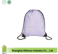 2016 Custom Cheap Promotional Polyester Drawstring Bag,Advertising Drawstring Bag Polyester,10 kg package available