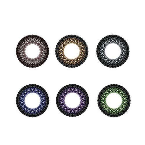 Promoting hot selling Lace barbie color contact lens/Yearly circle lenses