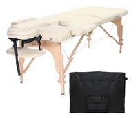 Brand new 2 section portable folding massage table for Global market