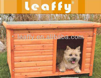 LEAFFY-Wooden with Asphalt Roof Dog House S,M,L DH4031