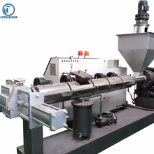 High quality waste plastic chip making machine / plastic pellet making machine in suzhou jiangsu province