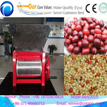 High Efficiency Manual Coffee Bean Pulper /Coffee Bean Shell/coffee bean peeling machine