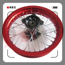 pit bike 1.85X12''alloy rear wheel