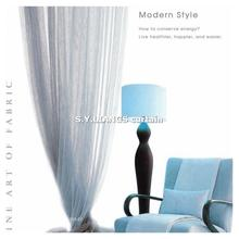 Taiwan fabric supplier S.Y.LIANGS, chinese middle east curtain, american style curtain