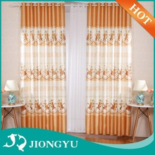 Famous Brand 10 years experience Hot Sale linen embroidered curtain