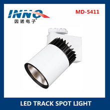 Customize dimmable LED track light high lux COB Sharp 30W adjustable recessed projector
