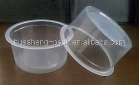 plastic disposable wholesale pp clear dessert cups mini bowl 8oz
