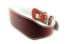 1052# Bulk In Stocks Genuine Leather Plus Sponge <strong>Weight</strong> Lifting Belt