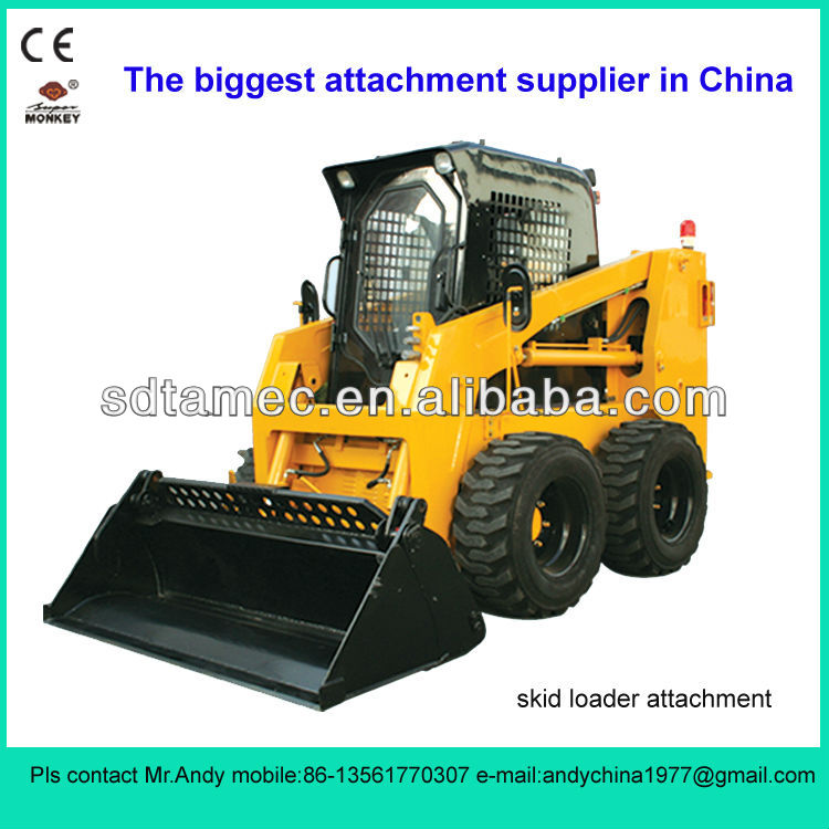 4 in 1 bucket for skid loader (skid loader attachment,bobcat attachment)