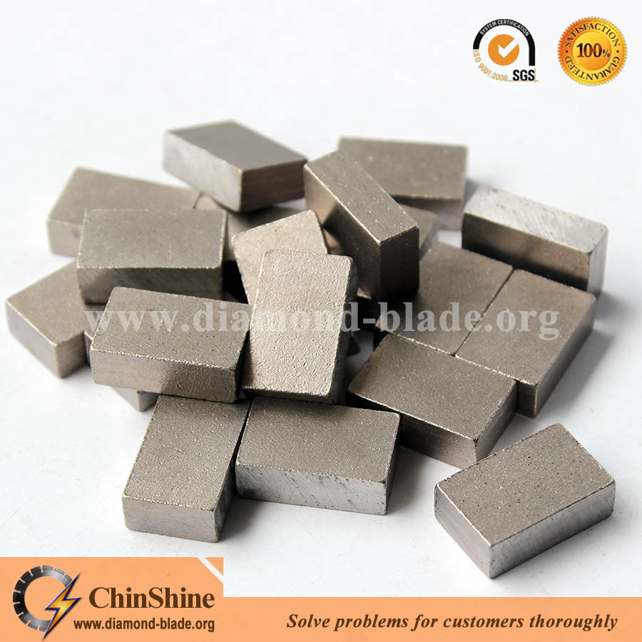 Premium quality diamond block cutter segment for granite multi blade