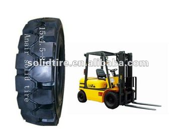 forklift solid wheels/rubber solid wheels