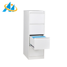 Factory price wholesale simple design 4 drawer steel filing cabinet