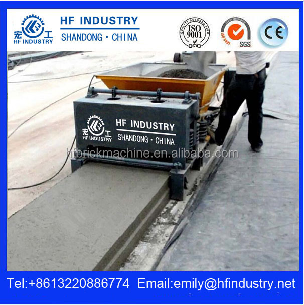 prestressed concrete hollow core slab machine