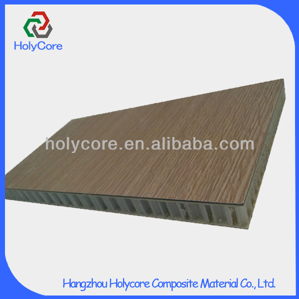 low cost prefabricate pp honeycomb wooden sandwich panel house