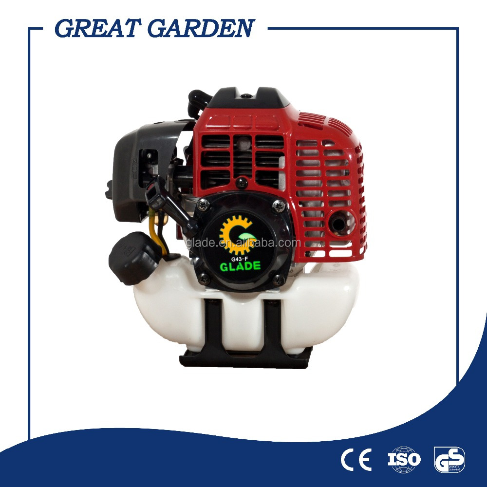 Brush cutter petrol/gas power type engine 43cc diaphragm type
