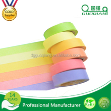 DIY Custom make Color masking tape paper decoration tape for customized gifts and package