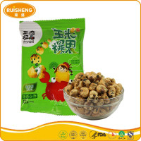 Snack Pellets Roasting 25g Coffee Corn Seaweed Crisps Snack