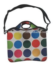 "14"" Neoprene Laptop Bag With Shoulder Strap"