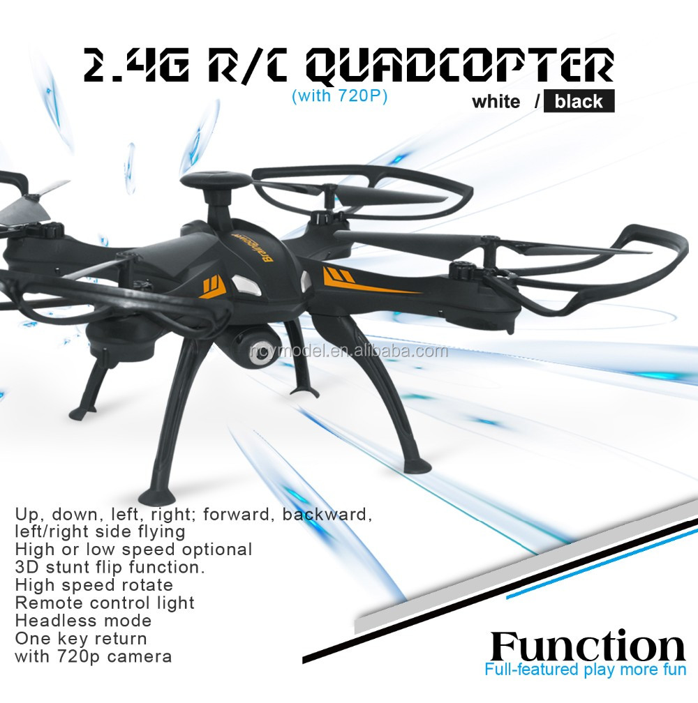 best quadcopter with camera 2.4G Helicopter Aircraft 6Axis RC Hobby FPV Smart Quadrotor