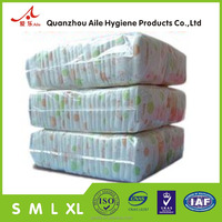 Second Grade Breathe Cloth Like Baby Diapers in Bale with Good Quality Cheap Price