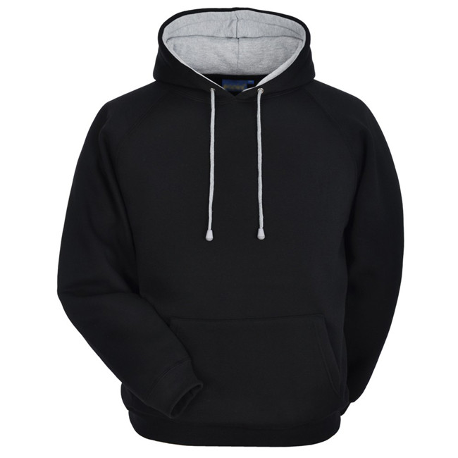 High Quality Custom 100% Cotton Plain Hoodies for Men Custom Hoodies