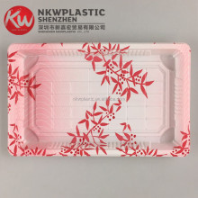 KW1-1107Clover Embossing OEM Disposable Tray for Food