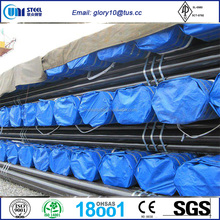 ASTM A106 seamless carbon steel pipe / api 5l x52 seamless steel pipe/ sch40 sch80 black seamless steel pipe
