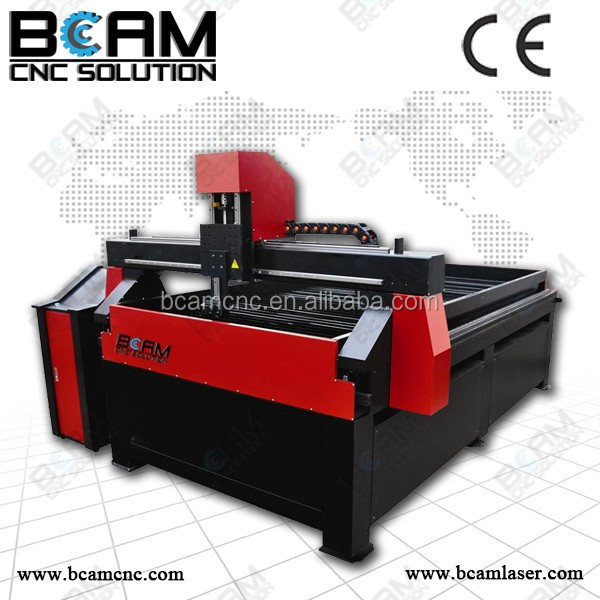 Professional metal cutting! BCAMCNC steel plate cutting machine BCP1212 for stainless steel, aluminum, copper, etc.