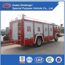 standard types of fire trucks, dongfeng fire trucks for sale