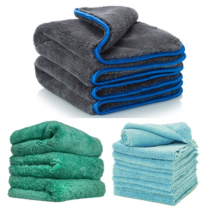 Waffle Weave Microfiber Car Drying Towels - Cleaning Cloths