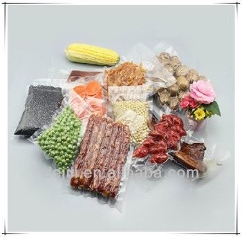 Vacuum shrink packaging plastic bag for meat,pork,chick,fish etc