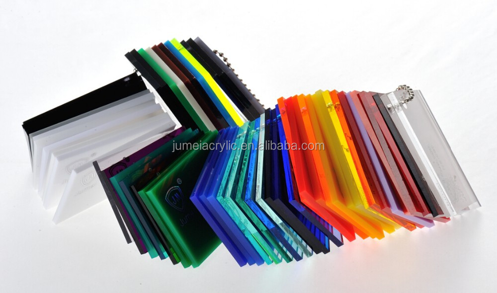 Jumei factory excellent clear transparent colors/opaque Plexiglass Sheets, cast acrylic sheet/PMMA sheet