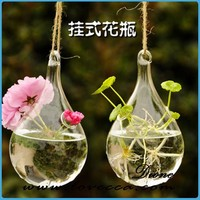 glass decorative handing terrarium crystal vase craft
