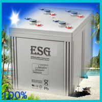 2v2000AH/ SEALED LEAD ACID BATTERY /dry charge/solar panel