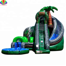 Giant Customized Commercial giant inflatable water slide for sale