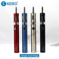 2015 china wholesale original 1900mah 2.5ml 1.5ohm kanger evod mega evod mega famous as kbox /subtank