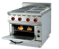 Electric Range with 4-Burner & Oven / Electric Cooking Range