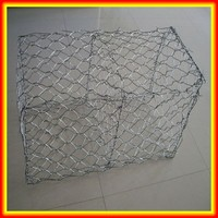 Anping Hexagonal Galvanized And Pvc Coated Mesh Gabion Box For Sale