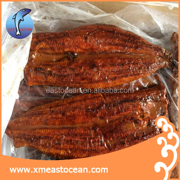 Hot sale seafood snack spicy wholesale sushi Frozen roasted eel unagi
