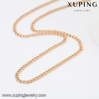 43070 -Xuping Wholesale Mini Gold Women Necklace Jewelries