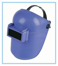 Head-mounted welding mask/helmet shield