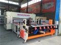 cardboard carton box making machine with print diecutting unit