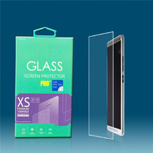 for HTC one max anti shock glass screen protector with retailer packing