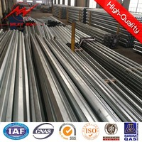 Galvanized electric substation equipment erecting Poles