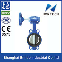 High Quality Double Flange butterfly valve with positioner
