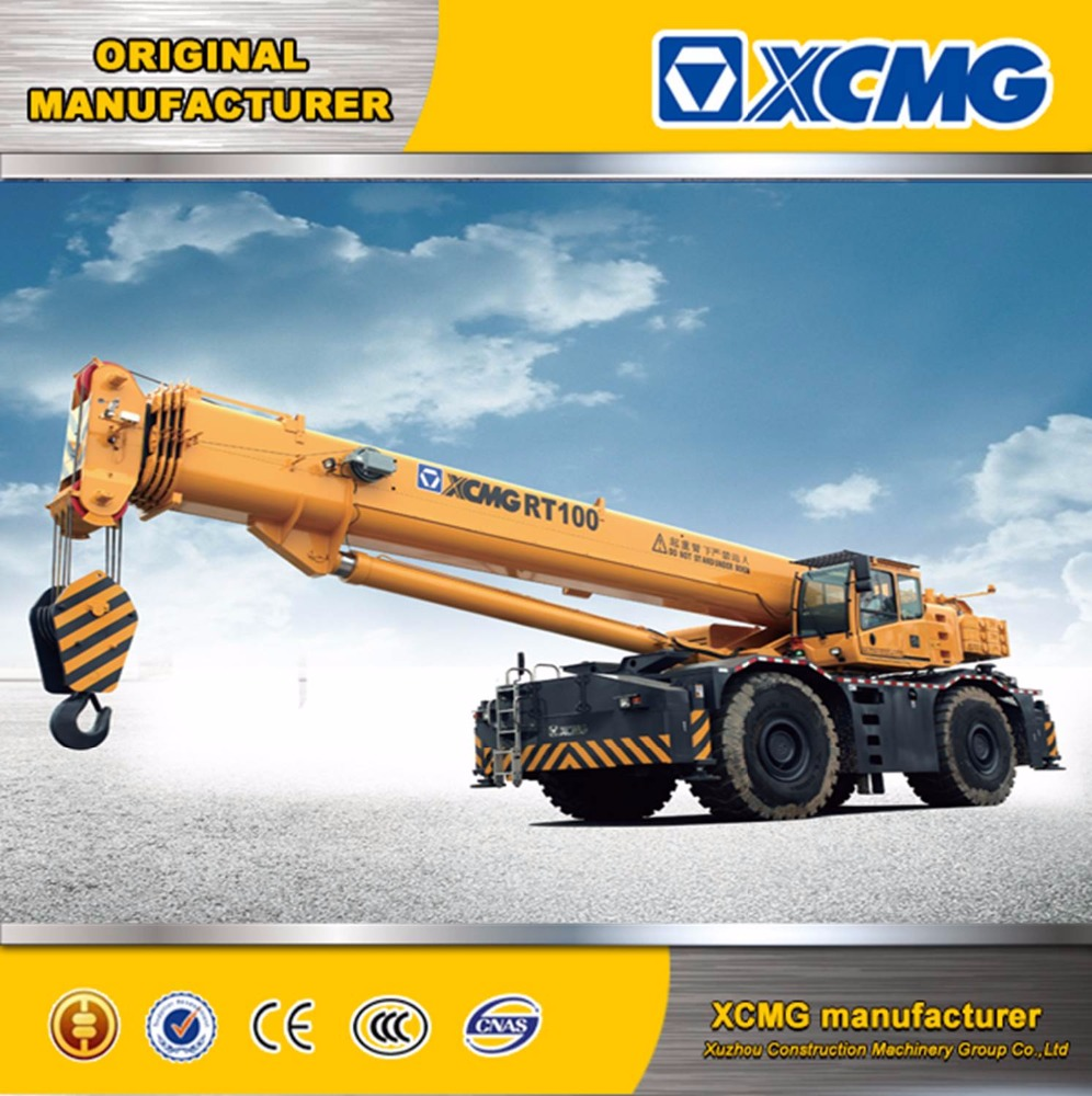 XCMG RT50 50ton rough terrain mobile crane(more models for sale)
