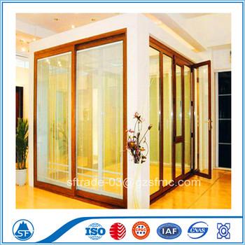 Aluminum multi track sliding glass door buy aluminum for Multi sliding glass doors