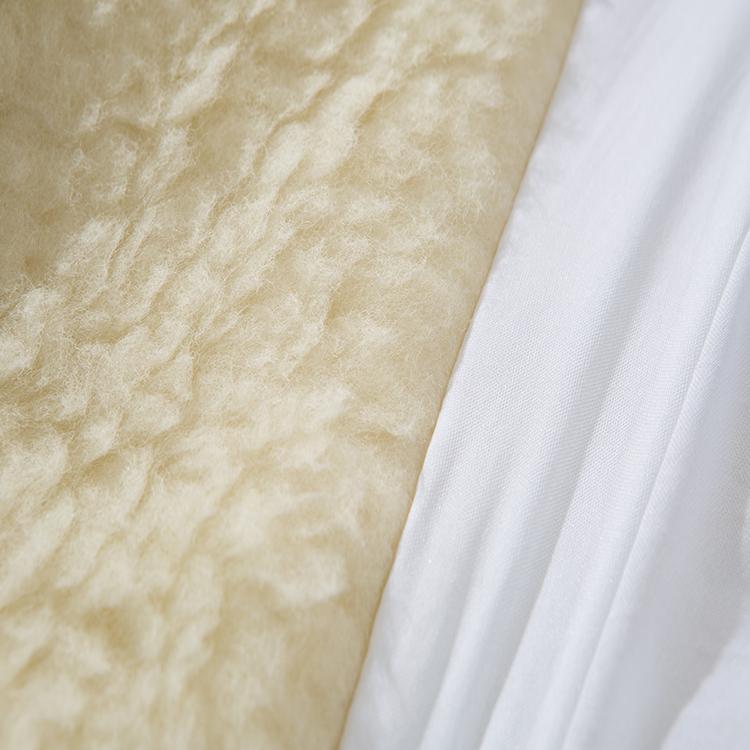 Wholesale Wool Flocked Bed Mattress Protector Warm - Jozy Mattress   Jozy.net