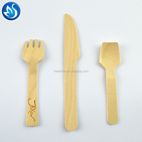 Disposable Small Wooden Cutlery /Spoon /Fork /Knife