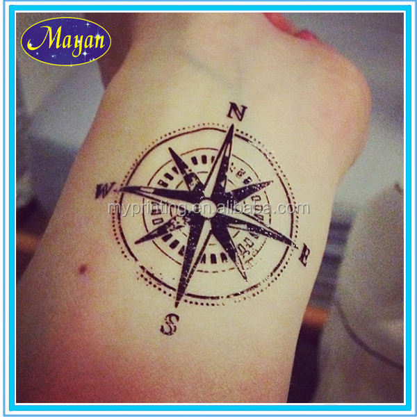 Custom Temporary Men Name Tattoo Designs Hand Tattoo Sticker